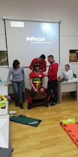 Trening za članove ŽIT-a iz prve pomoći u Vodicama u Istri