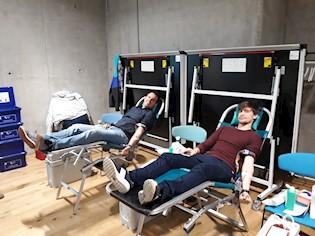 Akcija darivanja krvi u INFOBIPU