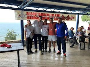 Susret darivatelja krvi Istarske županije