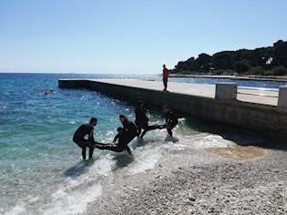 Tečaj za osposobljavanje spasilaca na otvorenim vodama